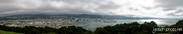 Panorama: Wellington City