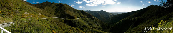 Panorama: Rimutaka Road