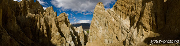 Panorama: Clay Cliffs