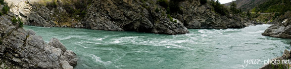 Panorama: Kawarau River